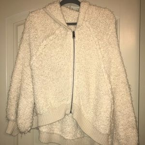 Furry Off-White Free People Jacket